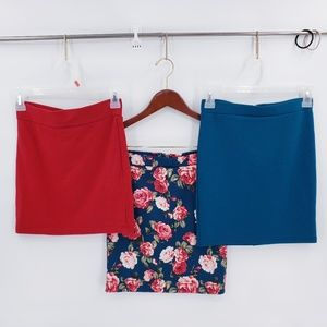 Forever 21 Bundle of Three Small skirts